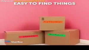 بستهبندیحرفهایبرایاثاثکشی