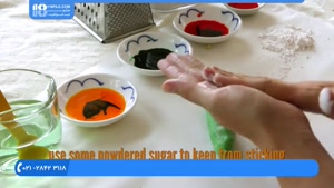 طرز تهیه کیک های کوچولو به شکل میوه