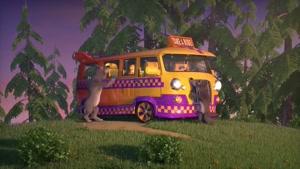 کارتون ماشا و آقا خرسه / آموزش رانندگی