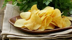 طرز تهیه چیپس سیب زمینی به سبک آسیایی