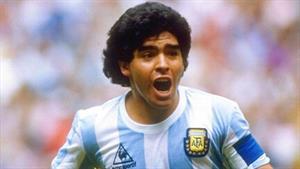 بازی های دیه گو مارادونا در باسلونا در سال های 1984- 1982