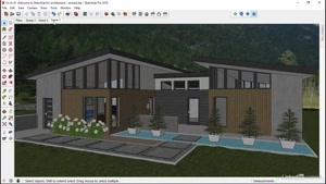 آموزش معماری در اسکچاپ – SketchUp