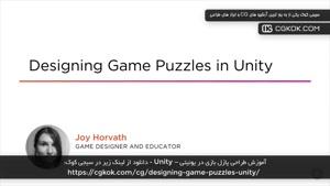 آموزش طراحی پازل بازی در یونیتی – Unity