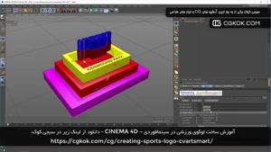 آموزش ساخت لوگوی ورزشی در سینمافوردی – CINEMA 4D