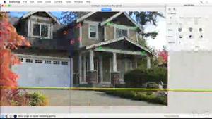 آموزش مدلسازی نمای خارجی در اسکچاپ – SketchUp