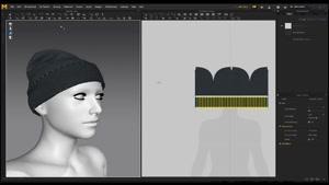 آموزش طراحی کلاه در Marvelous Designer 7