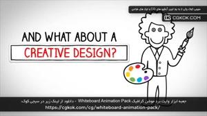 جعبه ابزار وایت برد موشن گرافیک Whiteboard Animation Pack