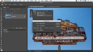 آموزش ایجاد اکشن در فتوشاپ – Photoshop