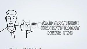 پروژه آماده نوشتن روی تخته وایت برد برای افترافکت Whiteboard