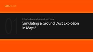 آموزش شبیه سازی انفجار در Maya