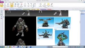 آموزش مدلسازی کاراکتر برای بازی در زیبراش و تری دی مکس