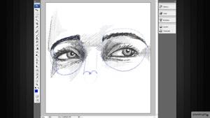 آموزش طراحی اجزای صورت انسان در فتوشاپ – Photoshop