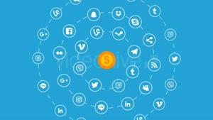 مجموعه ابزار موشن گرافیک شبکه های اجتماعی Social Media Expla