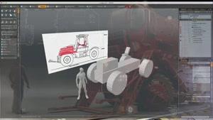 آموزش طراحی خودرو برای فیلم و تلویزیون