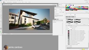 آموزش ایجاد تصاویر بازاریابی مسکن در 3ds Max و Vray و Photos