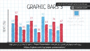 پروژه آماده اینفوگرافی کاغذی برای افترافکت Paper Presentatio