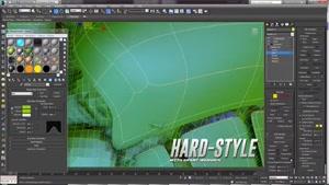 آموزش مدلسازی سطح سخت در 3ds Max