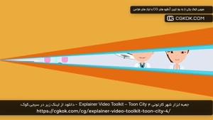 جعبه ابزار شهر کارتونی Explainer Video Toolkit – Toon City 4