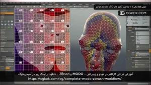 آموزش طراحی کاراکتر در مودو و زیبراش – MODO و ZBrush