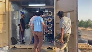 مراحل نصب دستگاه تصفیه اب صنعتی ro
