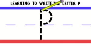 Write p