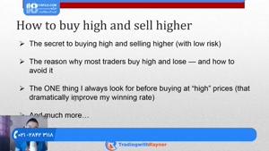 آموزش فارکس - نحوه خرید در بالاترین قیمت و فروش در  بالاتر