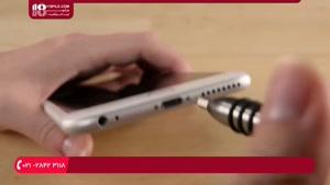 آموزش تعمیر گوشی آیفون - تعویض کلید هوم (اثر انگشت)