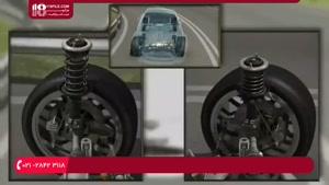 آموزش تعمیر جلوبندی ماشین- کمک فنر چیست و چه کاری انجام میده