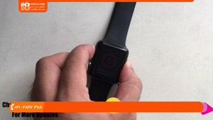 آموزش تعمیر اپل واچ - ظاهرشدن علامت تعجب قرمز روی صفحه نمایش