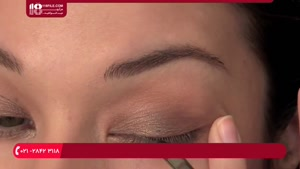 آرایش کامل صورت - نحوه استفاده از براش