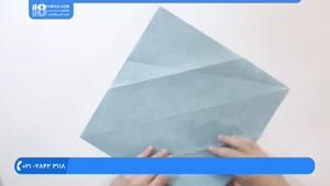 اوریگامی سه بعدی - آموزش درست کردن اوریگامی فیل آسیایی