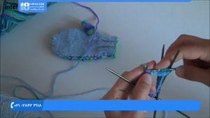 آموزش بافت دستکش و جوراب-بافت دستکش کودک