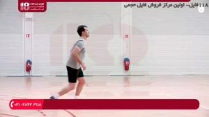 آموزش والیبال به کودکان - دریافت توپ
