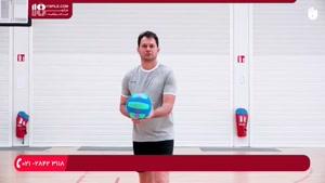 آموزش والیبال به کودکان - سرویس از بالا و سرویس از پایین