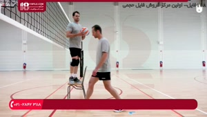 آموزش والیبال به کودکان - تمرین پرش برای حمله