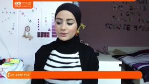 بستن شال و روسری-چگونگی بستن پوشش زیر روسری