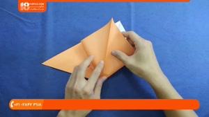 آموزش اوریگامی سه بعدی - درست کردن اوریگامی تانک