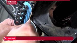 آموزش صافکاری خودرو با چسب حرارتی
