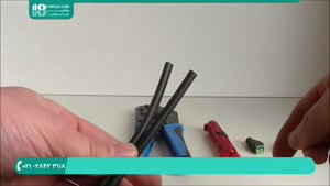 آموزش نصب دوربین مداربسته-آموزش بریدن و اتصال به کابل دوربین