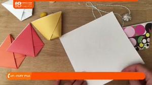 اوریگامی مقدماتی - اوریگامی لیوان