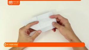 آموزش اوریگامی مقدماتی - اوریگامی تفنگ