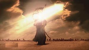 سکانس شهادت حضرت عباس علیه السلام در فیلم مختار نامه  + روضه
