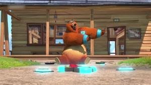 انیمیشن زیبای گریزی و موش کوچولوها قسمت 34