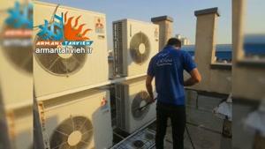 خدمات کولر گازی روزهای تعطیل و جمعه 09125042902