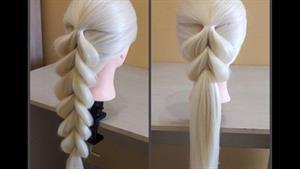 آموزش بافت موی شیک و زیبا