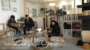 اتاق بازی با گربه ها   کافه گربه ها در دنیا