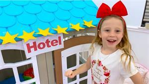 ماجراهای نستیا و بابایی این داستان هتل کوچک