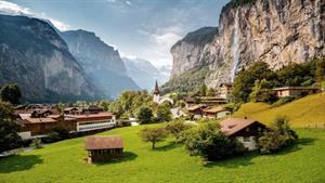 ویدیویی زیبا و دیدنی از کوه های سوئیس