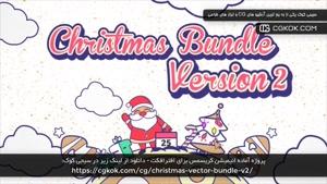 پروژه آماده انیمیشن کریسمس برای افترافکت