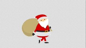 دانلود کاراکتر موشن گرافیک بابانوئل